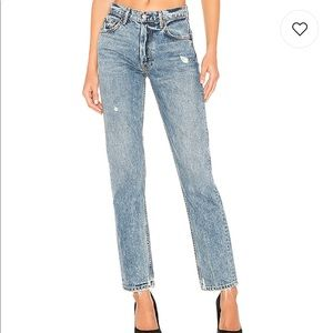 Grlfrnd Helena High rise straight Jean in no limit